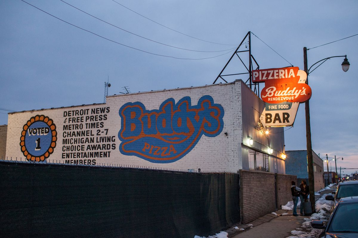 The original Buddy's Pizza in Detroit.