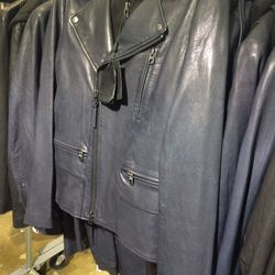 Mike leather jacket, $660 (was $1,100)