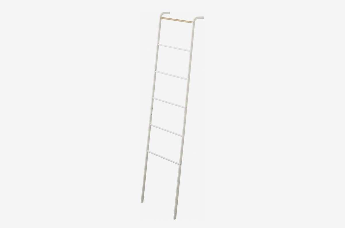 A white ladder.