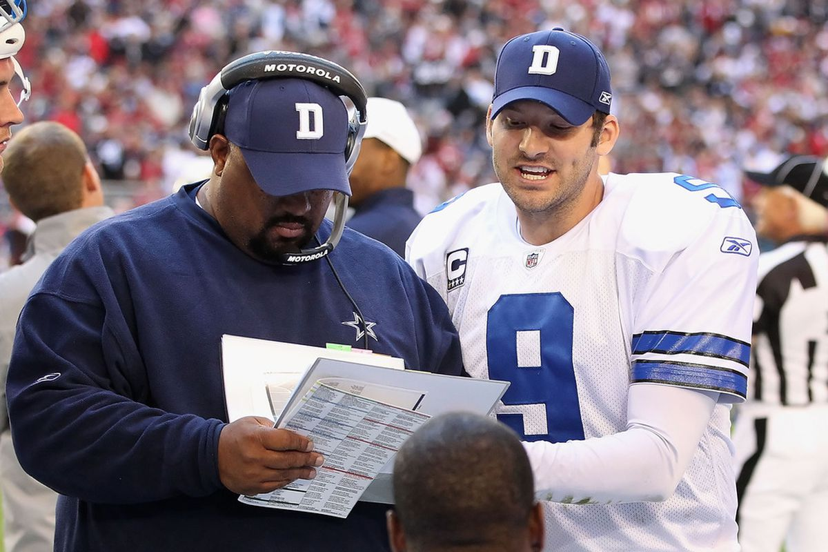 Coaches show Tony Romo a calender and try to trick him into thinking it's not December.