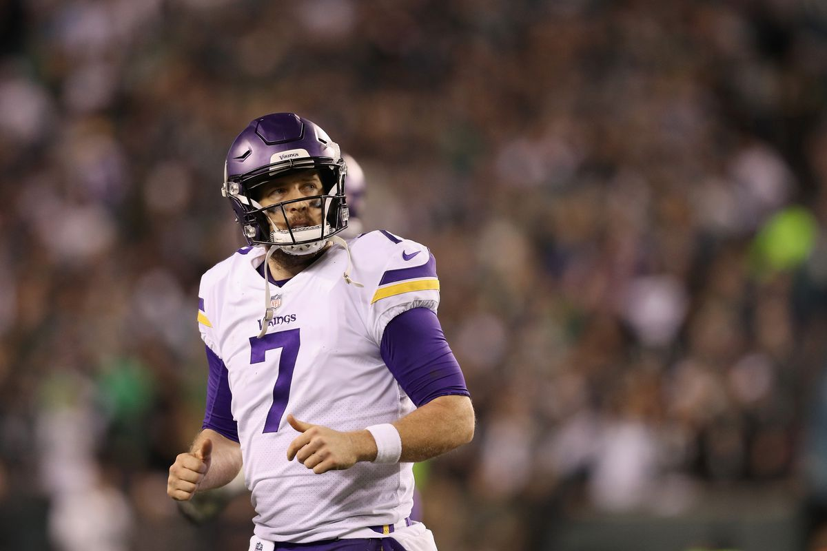 big sale 628b8 c3d80 Case Keenum contract is a pretty strong two-year deal - Mile ...