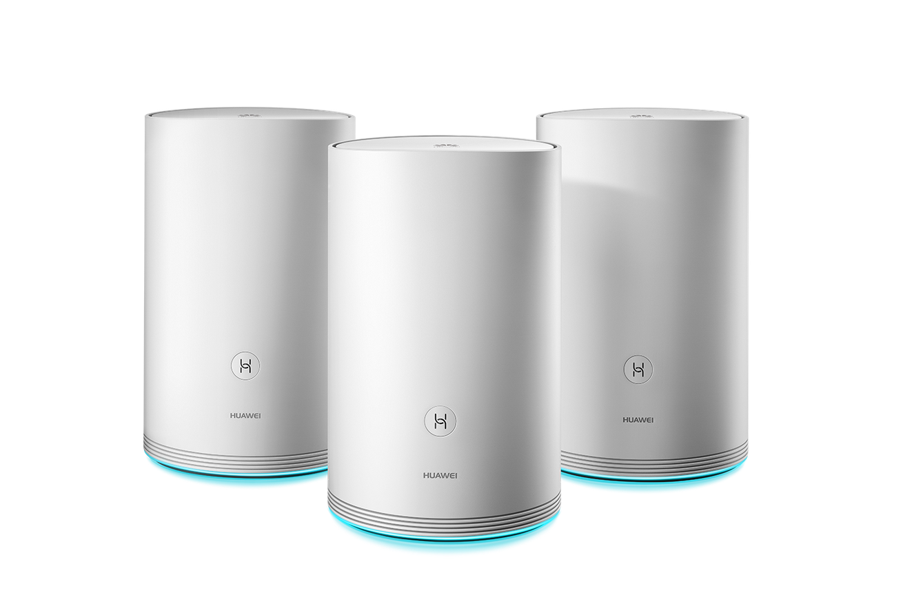 huawei releases a mesh wi fi system it claims has ultrafast connection speeds