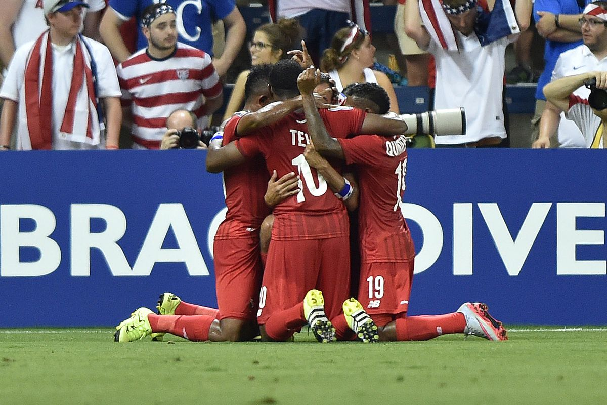Panama celebrates taking the lead, but they need results elsewhere to reprise their run to the final from 2013