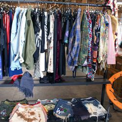Shy Wilder stocks vintage, upcycled merch and stylish streetwear from a handful of local designers. They hope to make their Arts District Flea pop-up a regular thing&8212;cross your fingers!