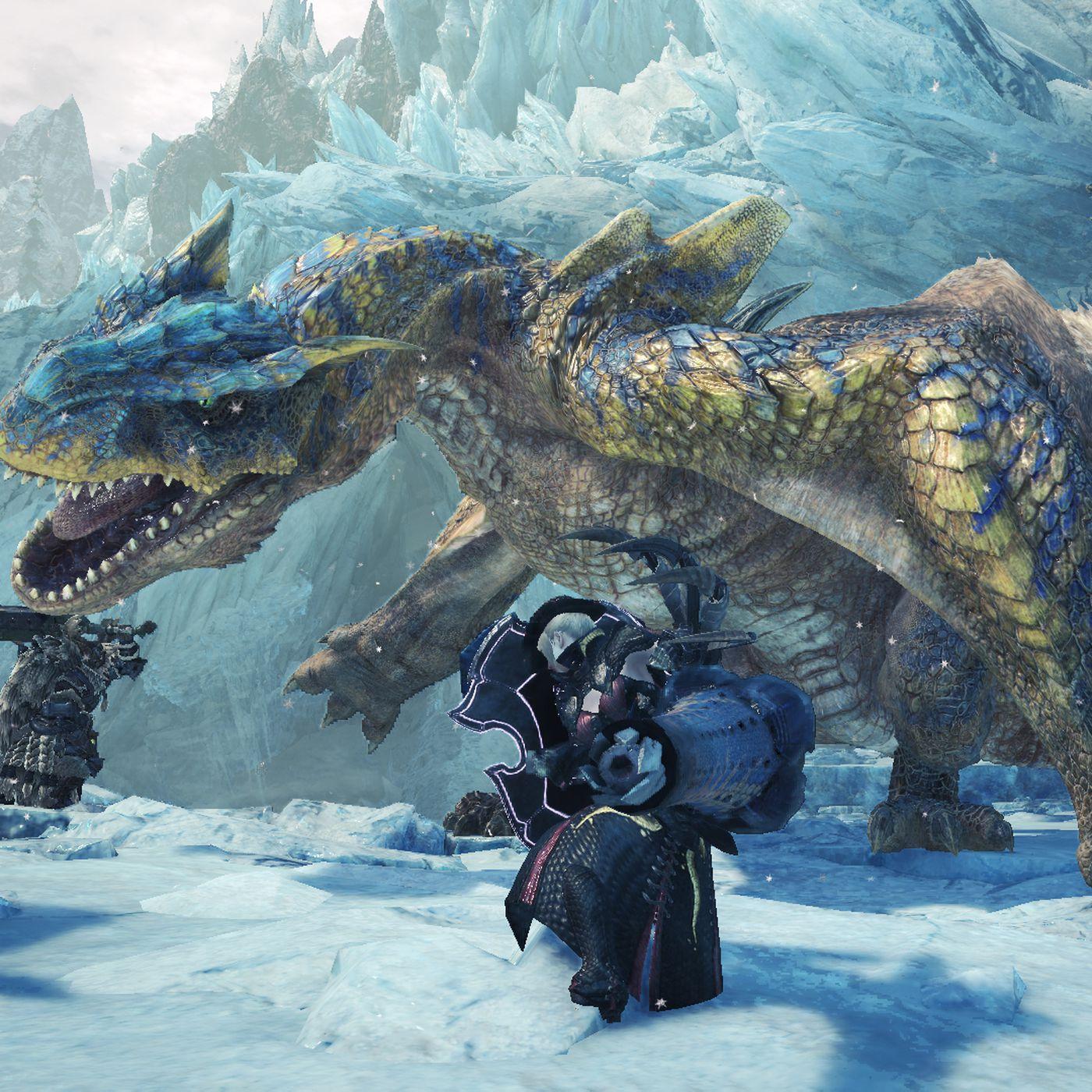 Monster Hunter: World Iceborne PS4 beta dates announced