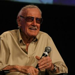 Marvel icon Stan Lee hosts a Q&A panel at Salt Lake Comic Con. With more than 50,000 tickets sold, Comic Con goers filled the convention halls to the max during the final day of the convention.