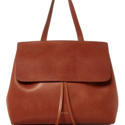 Brown leather lady bag, $895