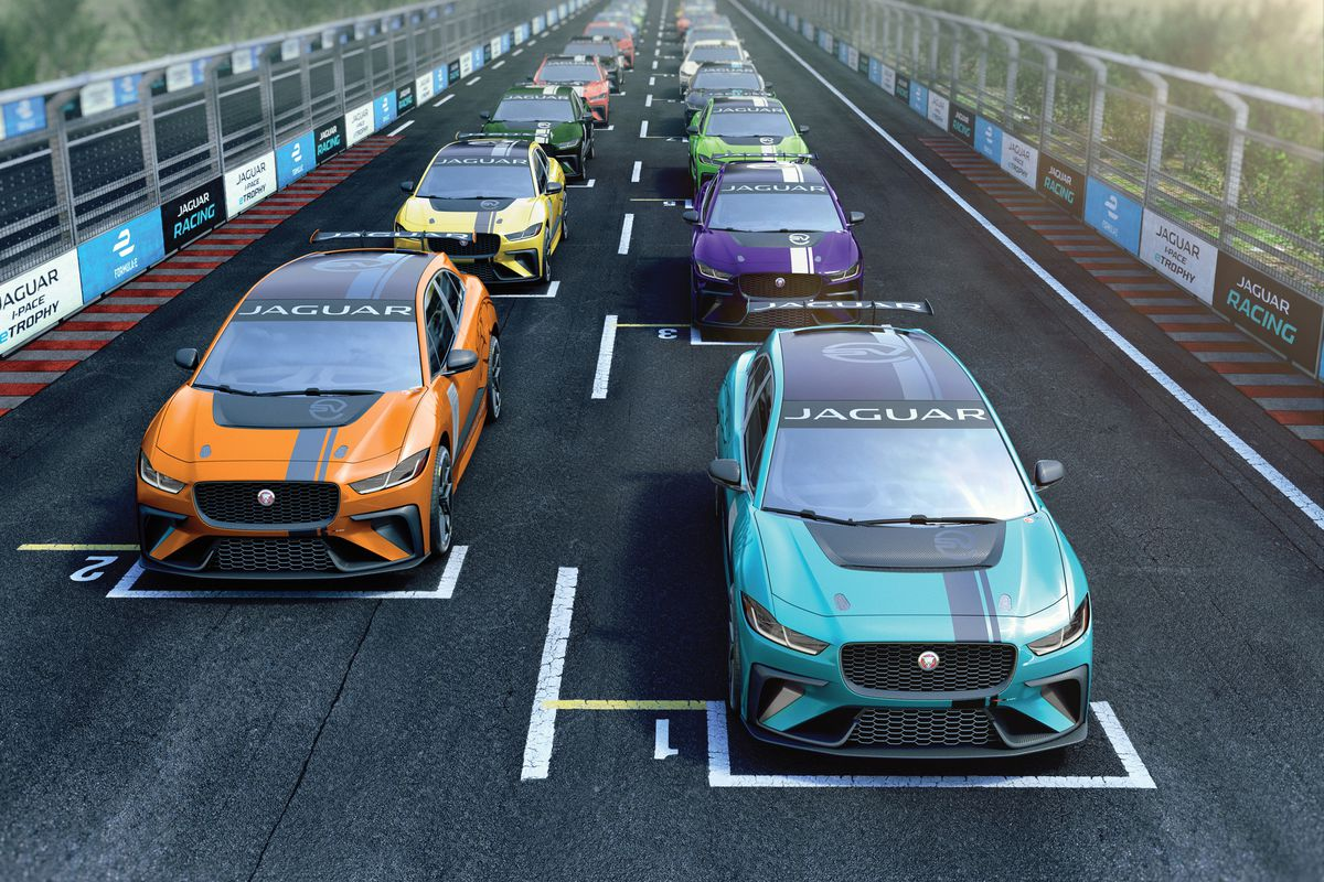 Jaguar Is Starting An Allelectric SUV Racing Series The Verge - All jaguar