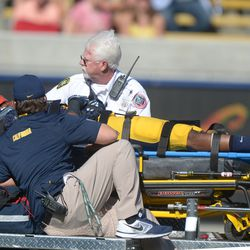 Scary moment for Joel Willis, but he reportedly has movement in all his extremities