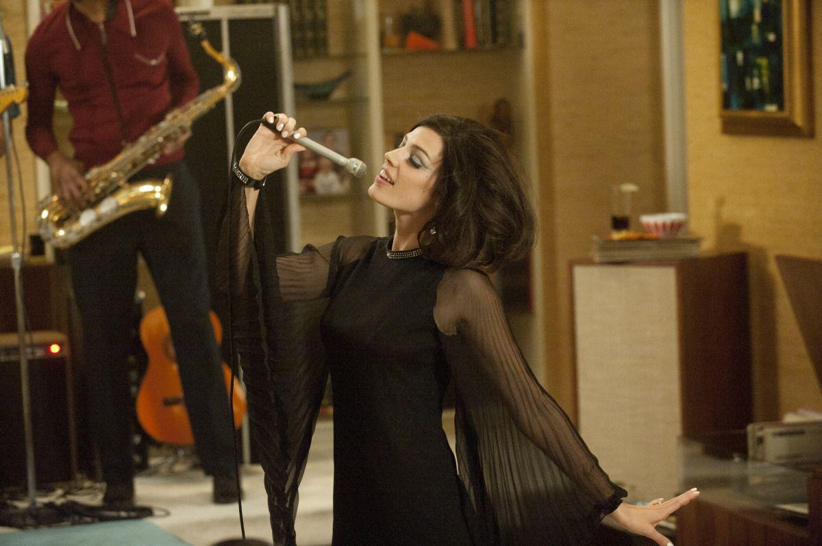 Jessica Paré as Megan Draper in season 5, episode 1-2 of Mad Men.