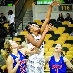 UCF Women's Basketball defeats SMU, 55-43