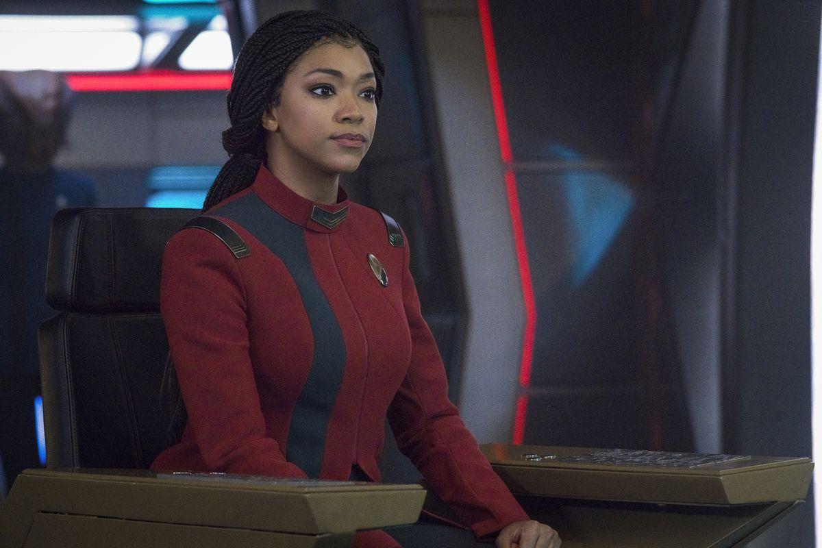 Captain Michael Burnham in Star Trek Discovery