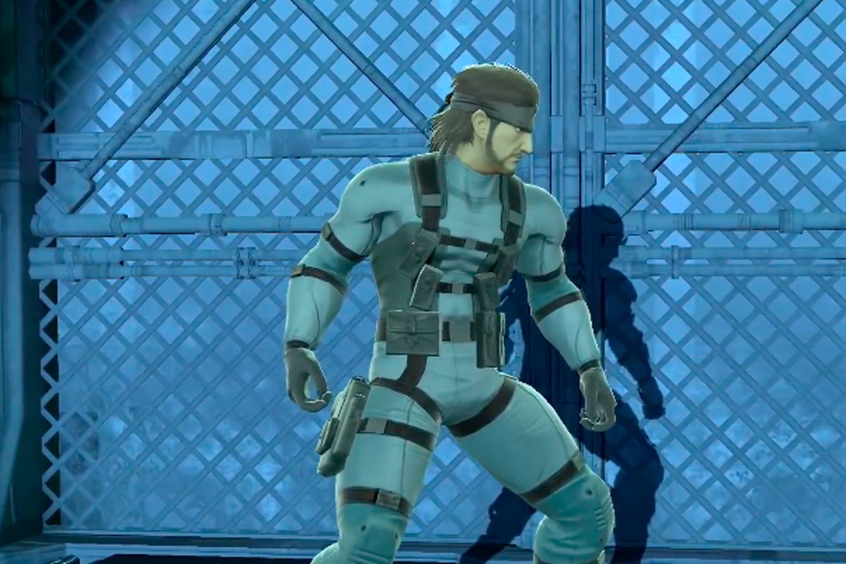 Smash Bros  Ultimate tones down Snake's butt - The Verge