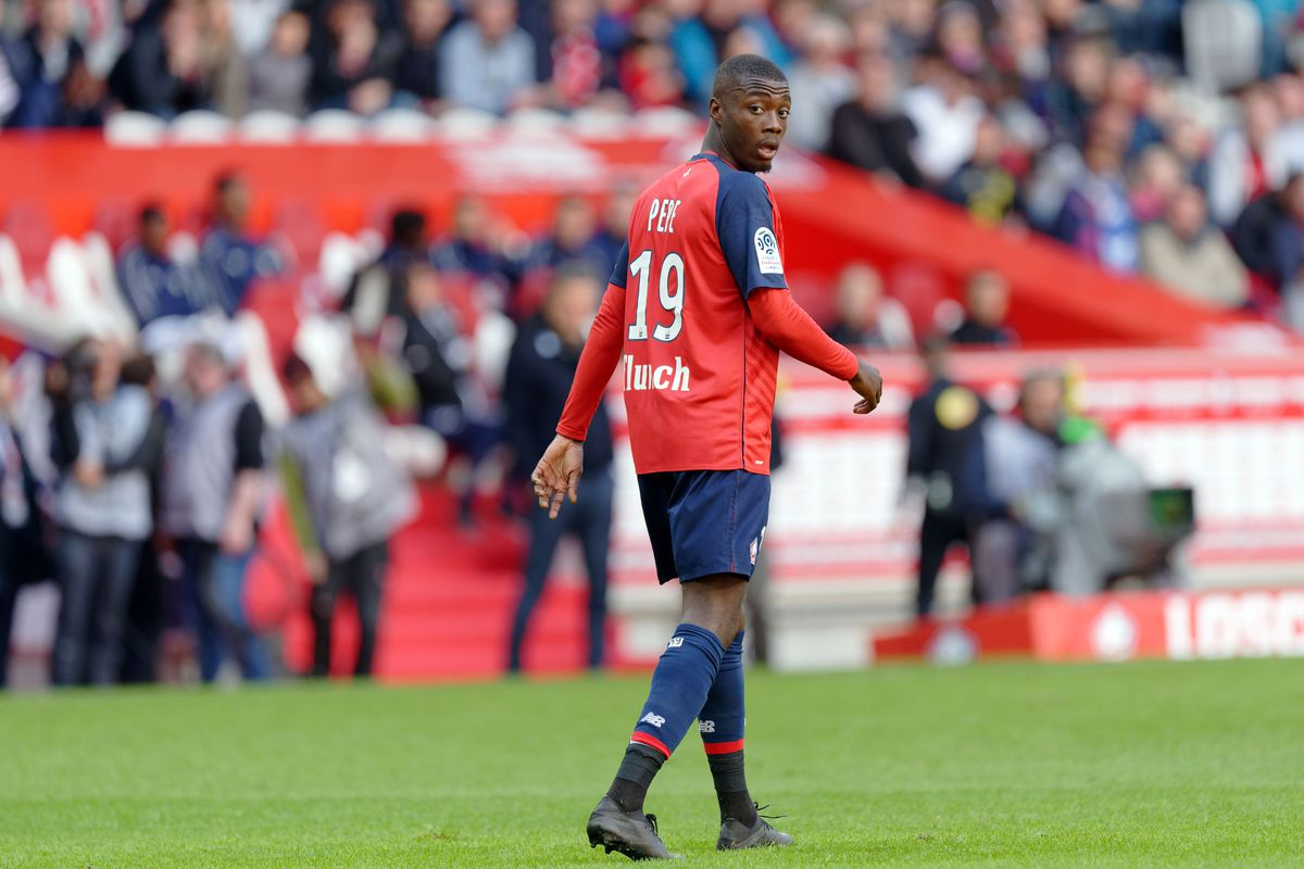 arsenal transfer nicolas pepe statistical breakdown and. Black Bedroom Furniture Sets. Home Design Ideas