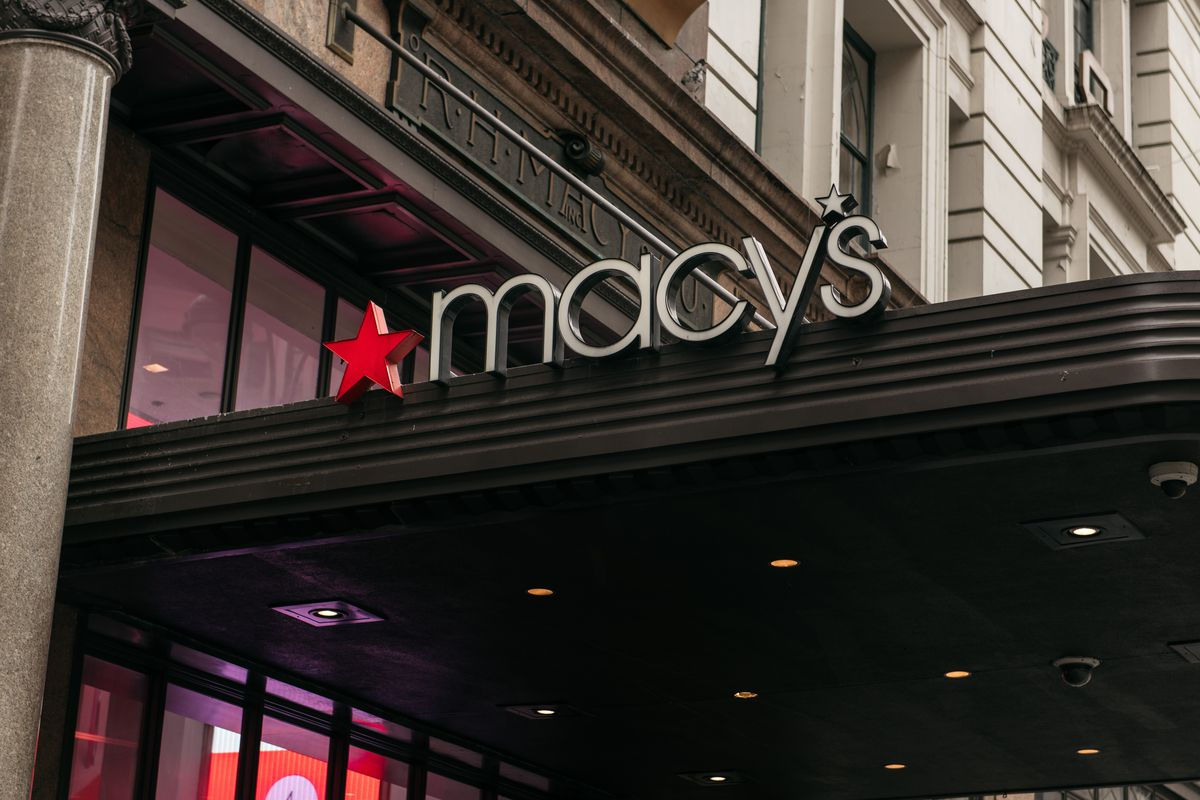 Macy's flagship store in New York City.