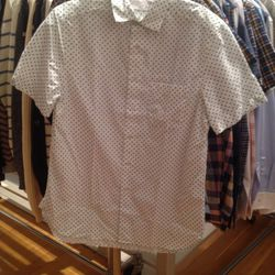 Short-sleeved button down, $55