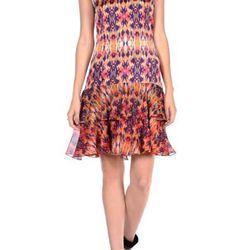 "<a href=""http://www.icbnyc.com/shop/hibiscus-kaleidoscope-print-silk-v-neck-dress"">Kaleidoscope print silk v-neck dress</a>, $161.00 (was $645.00)"