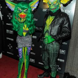 Maybe Phillipe and David Blond, designers behind label The Blonds, had the best costumes of the night?
