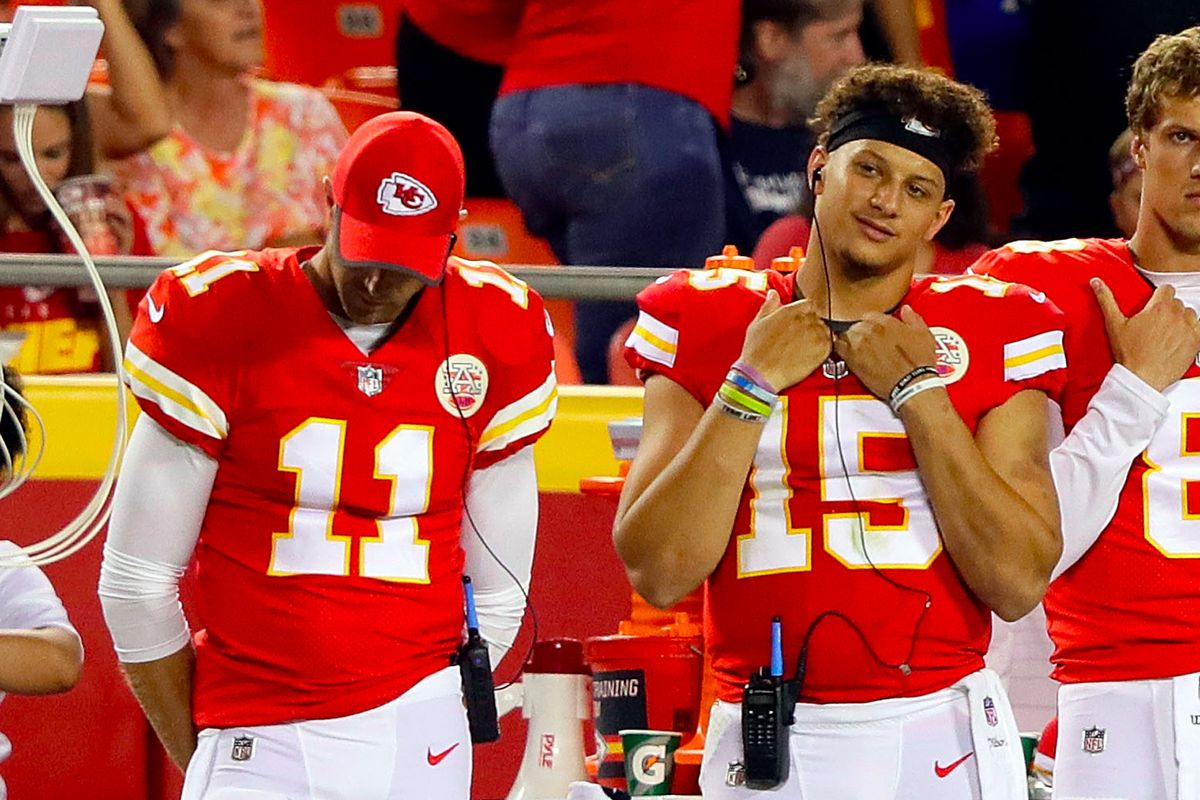 Is Alex Smith About To Lose His Job To Pat Mahomes This