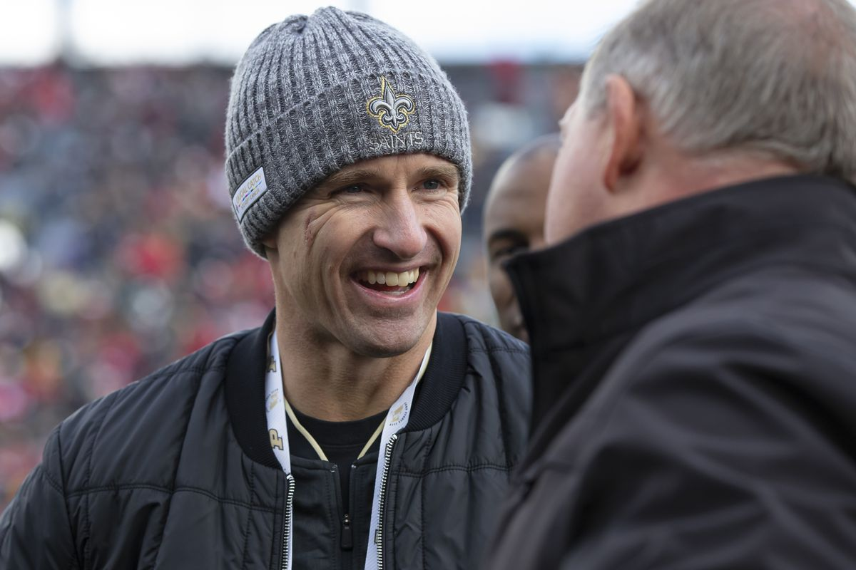 Boilers In The Pros Is It Super Bowl Or Bust For Drew Brees This Season Hammer And Rails