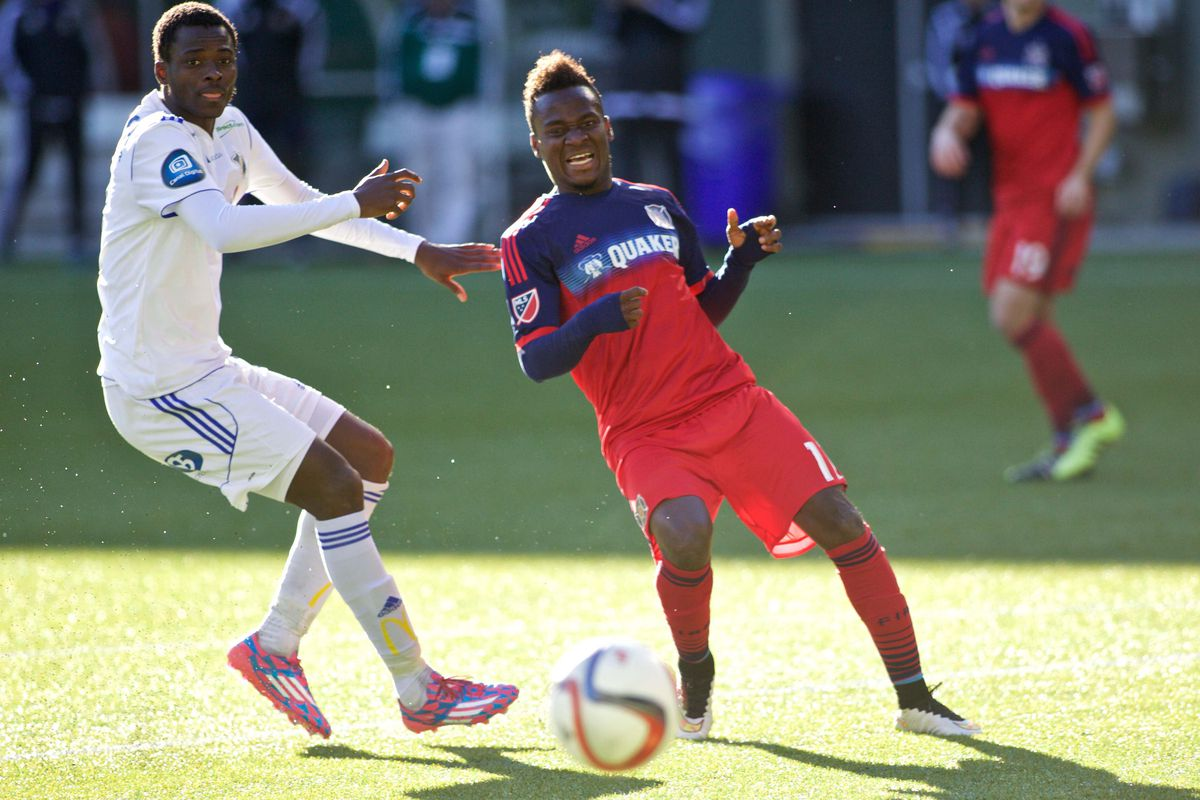 The encore to David Accam's promising debut will need to wait. He is headed to the Ghana national team to play in a pair of friendlies.