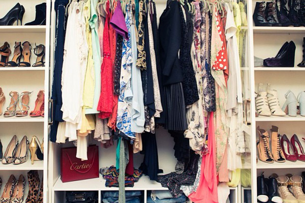 """Song of Style's Aimee Song is cleaning out her closet for a sale this weekend. Image via Song of Style/<a href=""""http://instagram.com/p/Xq4QYZHj6_/"""">Instagram</a>."""