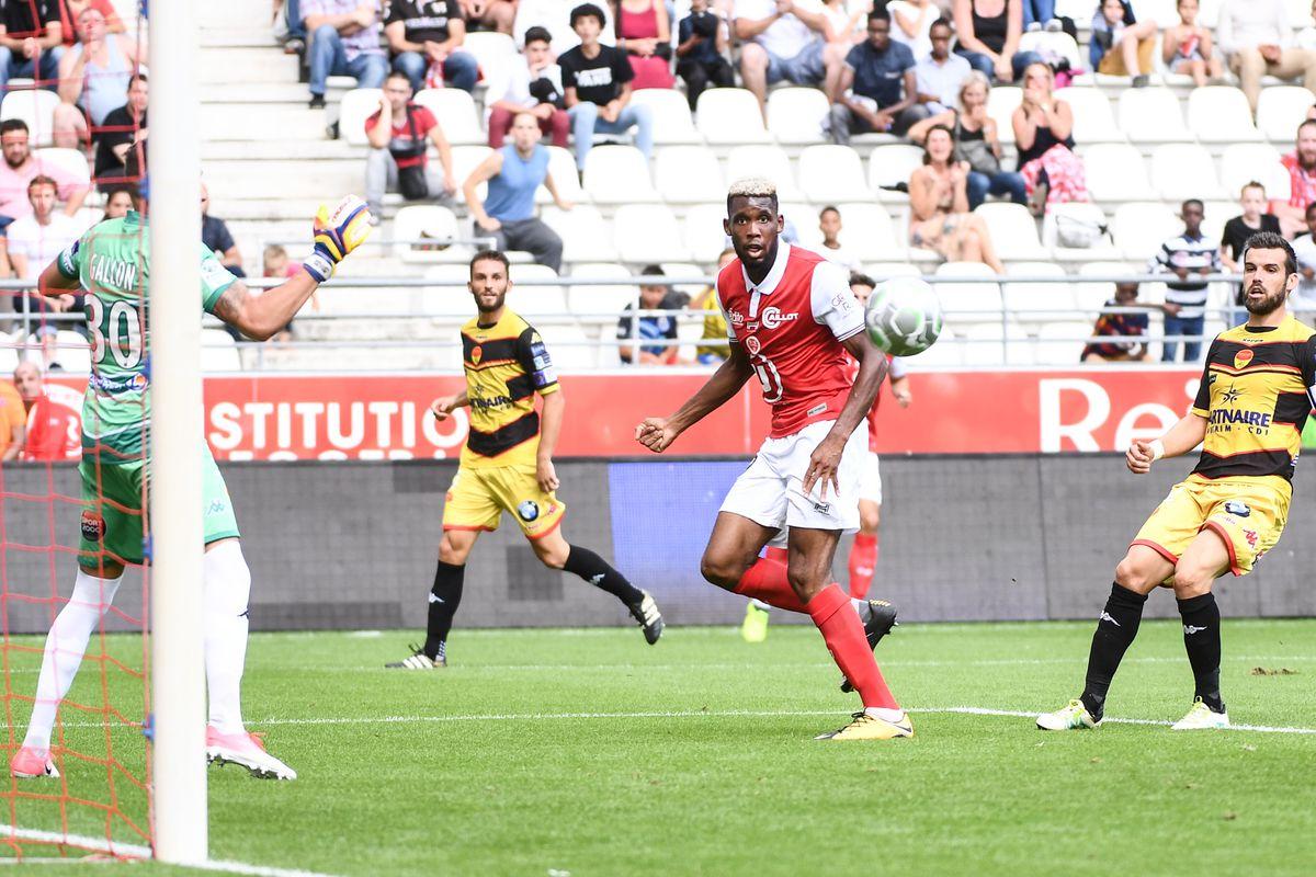 Stade de Reims v Union sportive Orleans Loiret football - French Ligue 2