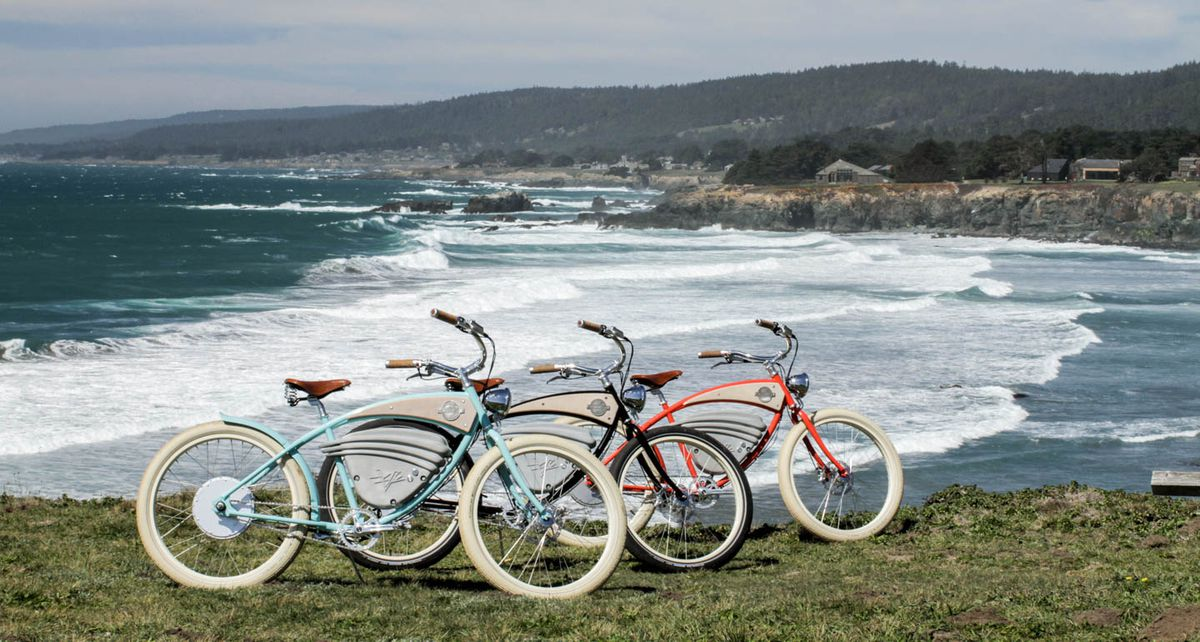 c46d1716a4 These old-school electric bicycles look like a 1950s dream - The Verge