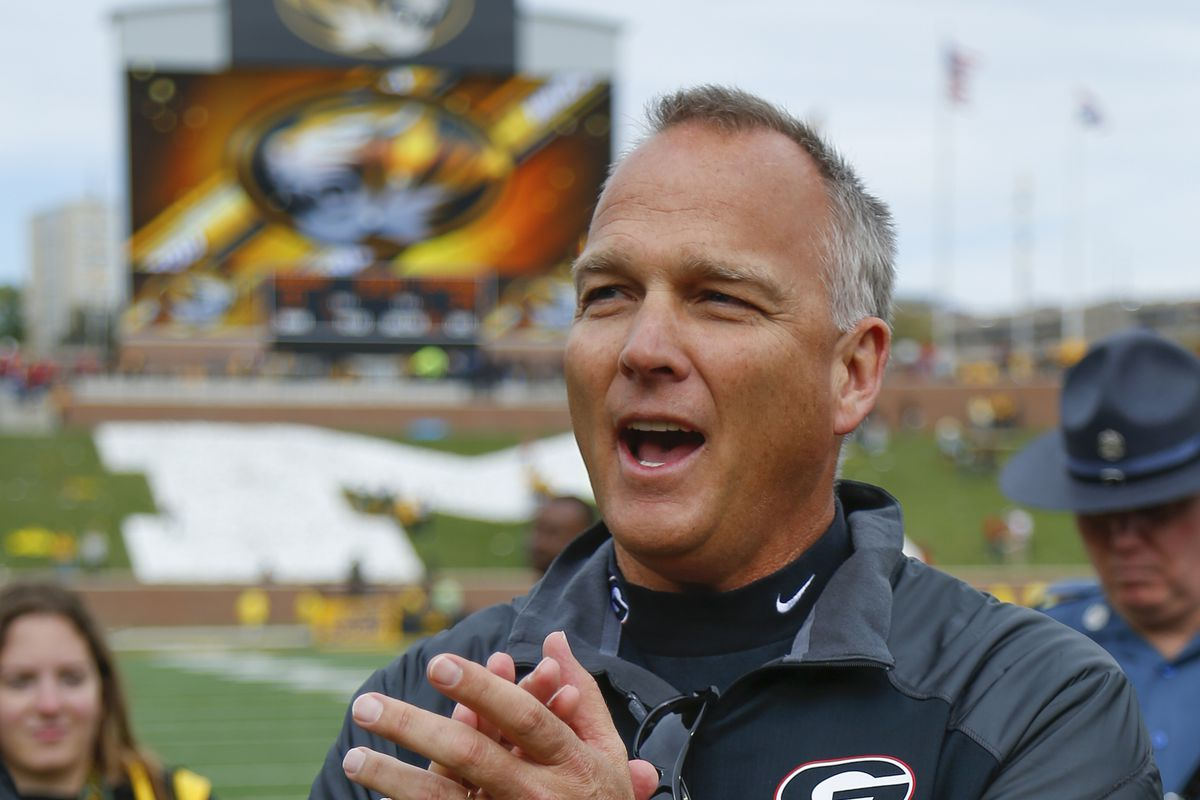 I hope Coach Richt is this happy on Saturday.