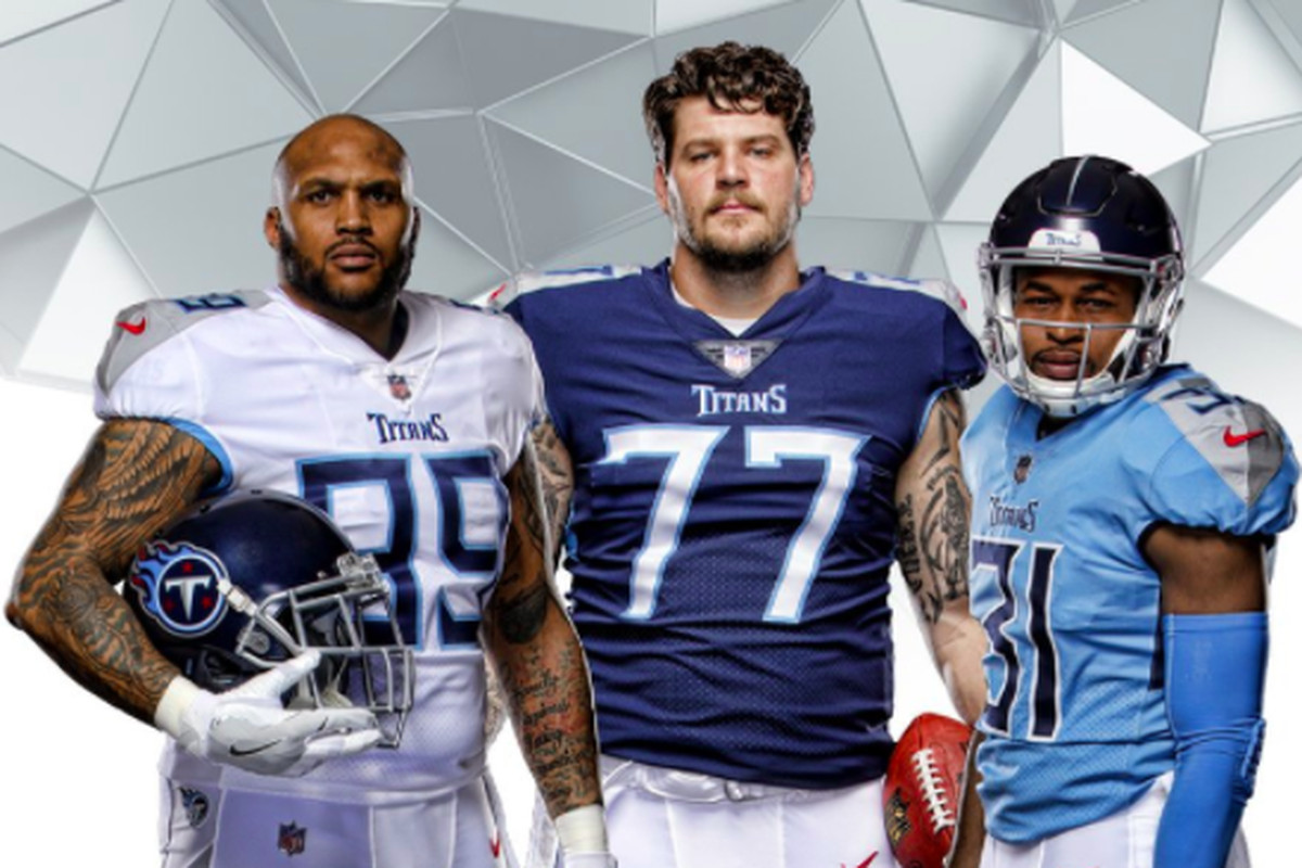online store 0ee88 f4e01 See the Titans new uniforms - Music City Miracles
