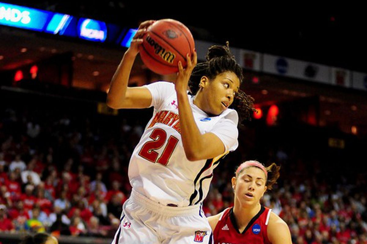 Tianna Hawkins will look to follow up her big game against UNC and lead the Terps to a win over FSU.
