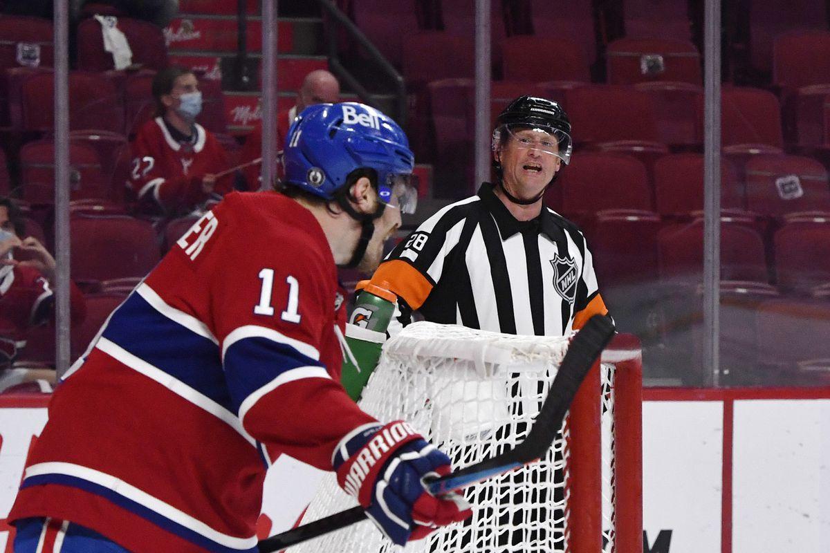 NHL: Vegas at Montreal Canadiens