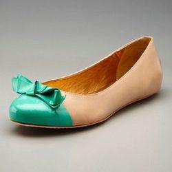 """<a href=""""http://www.gilt.com/sale/women/kate-spade-new-york-shoes/product/145788268-kate-spade-new-york-shoes-tabby-ballet-flat"""">Tabby ballet flat</a>, $129 (was $225)"""