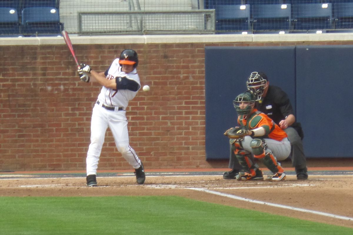 Virginia's Adam Haseley delivered a 1-2-3 B9 and a monster double on Thursday night.
