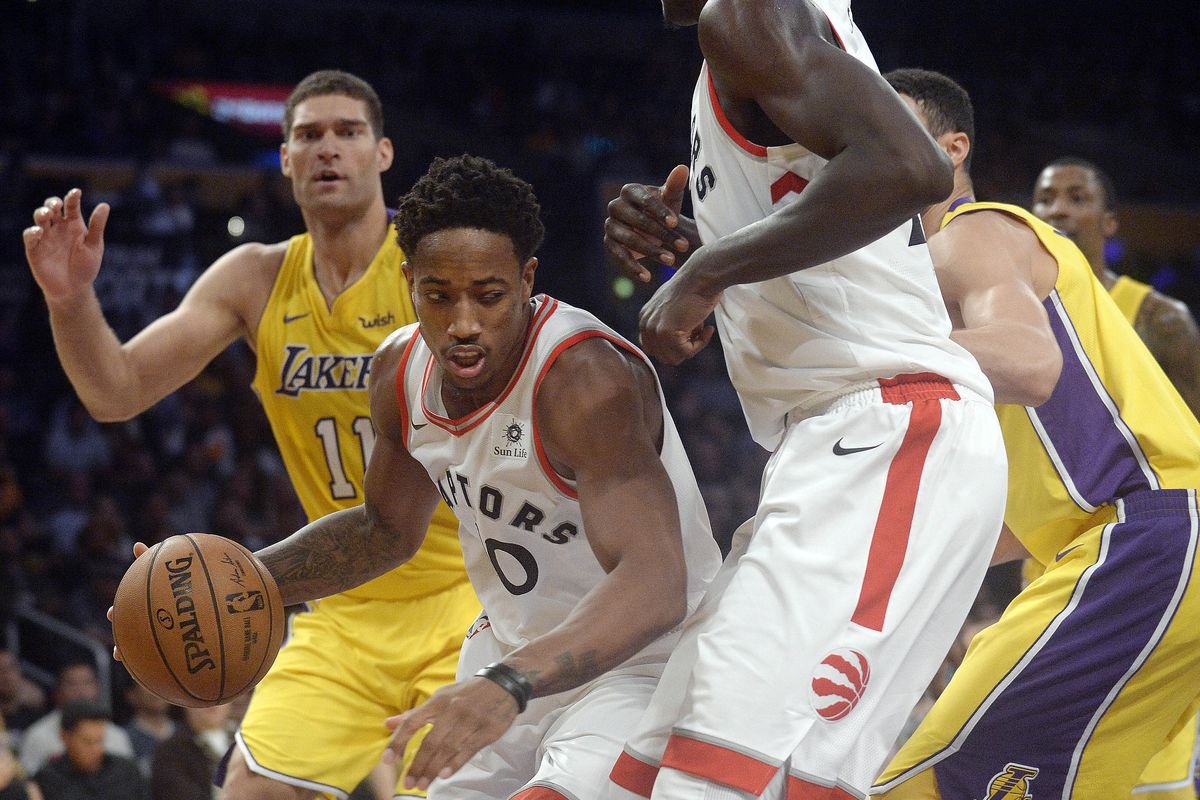 Lakers Vs. Raptors Final Score: Second Half Blues Strike