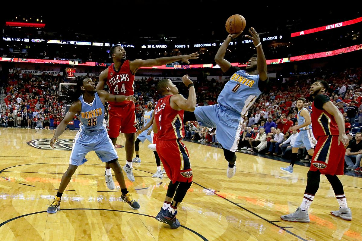 Denver Nuggets face measuring stick in New Orleans Pelicans 8972a0375