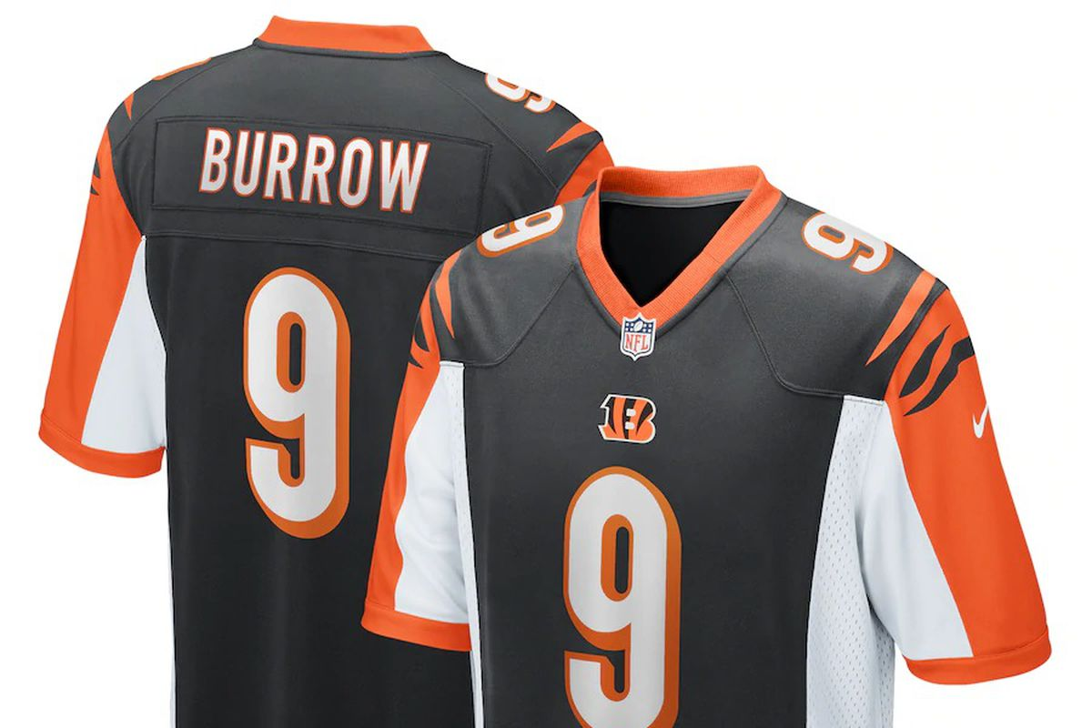Get your first Joe Burrow Bengals jersey right here! - Cincy Jungle