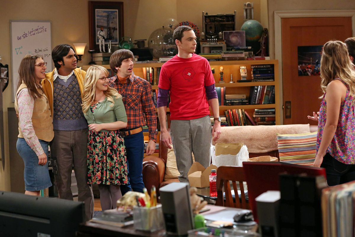 The cast of The Big Bang Theory, one of TV's biggest shows