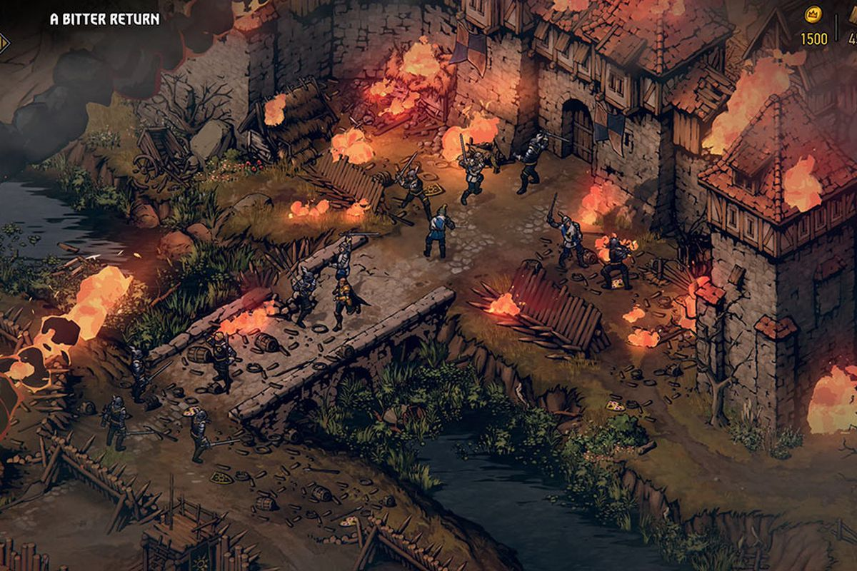 Thronebreaker: The Witcher Tales is a card-powered isometric RPG