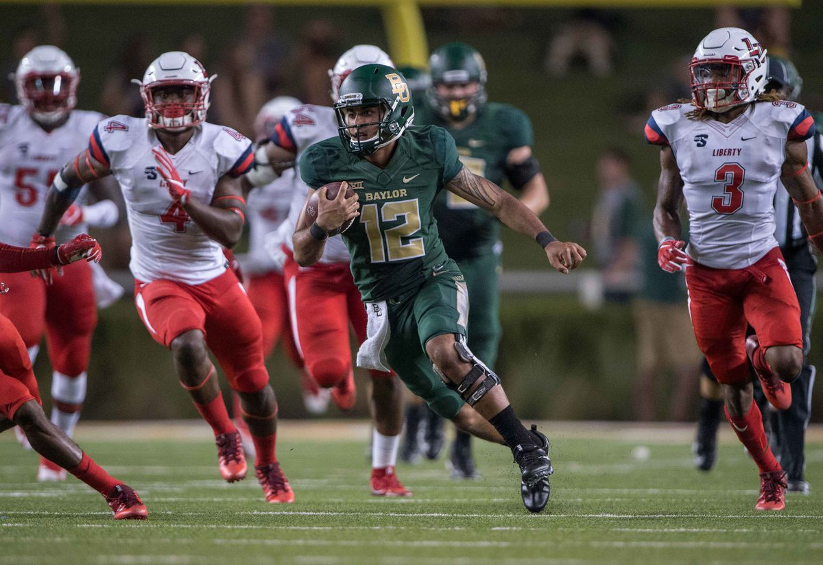 NCAA Football: Liberty at Baylor