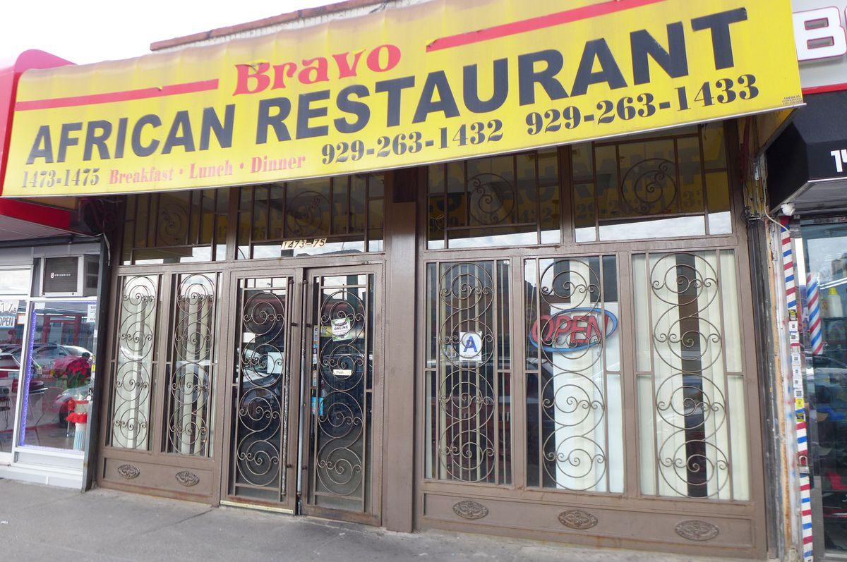 Bravo is located just under the 6 line in Soundview.