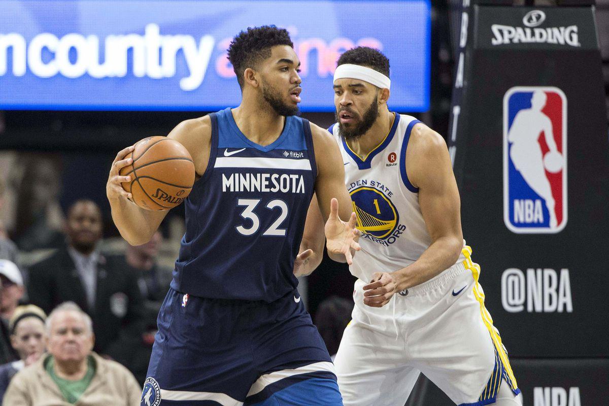 NBA: Golden State Warriors at Minnesota Timberwolves