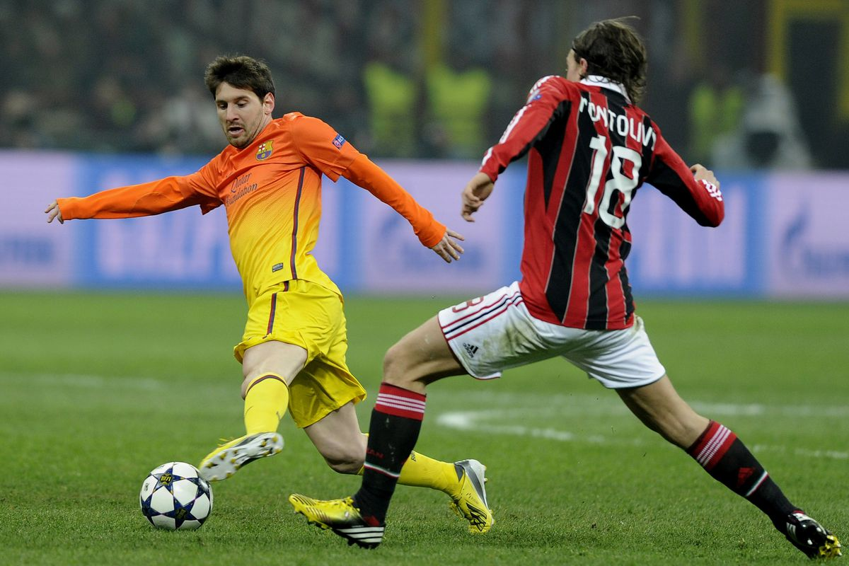 Barcelona Vs Ac Milan 2013 Uefa Champions League Lineups Sbnation Com