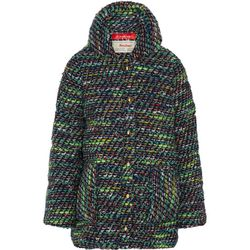 """<b>Coohem</b>, <a href=""""http://www.net-a-porter.com/product/478319/Finds/-coohem-padded-down-boucle-tweed-coat"""">$577.50</a> (from $1,155)"""