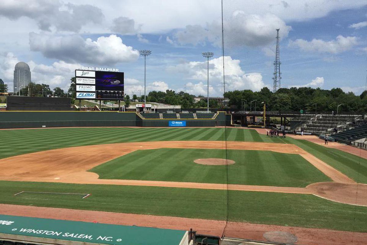 BB&T Ballpark in Winston-Salem