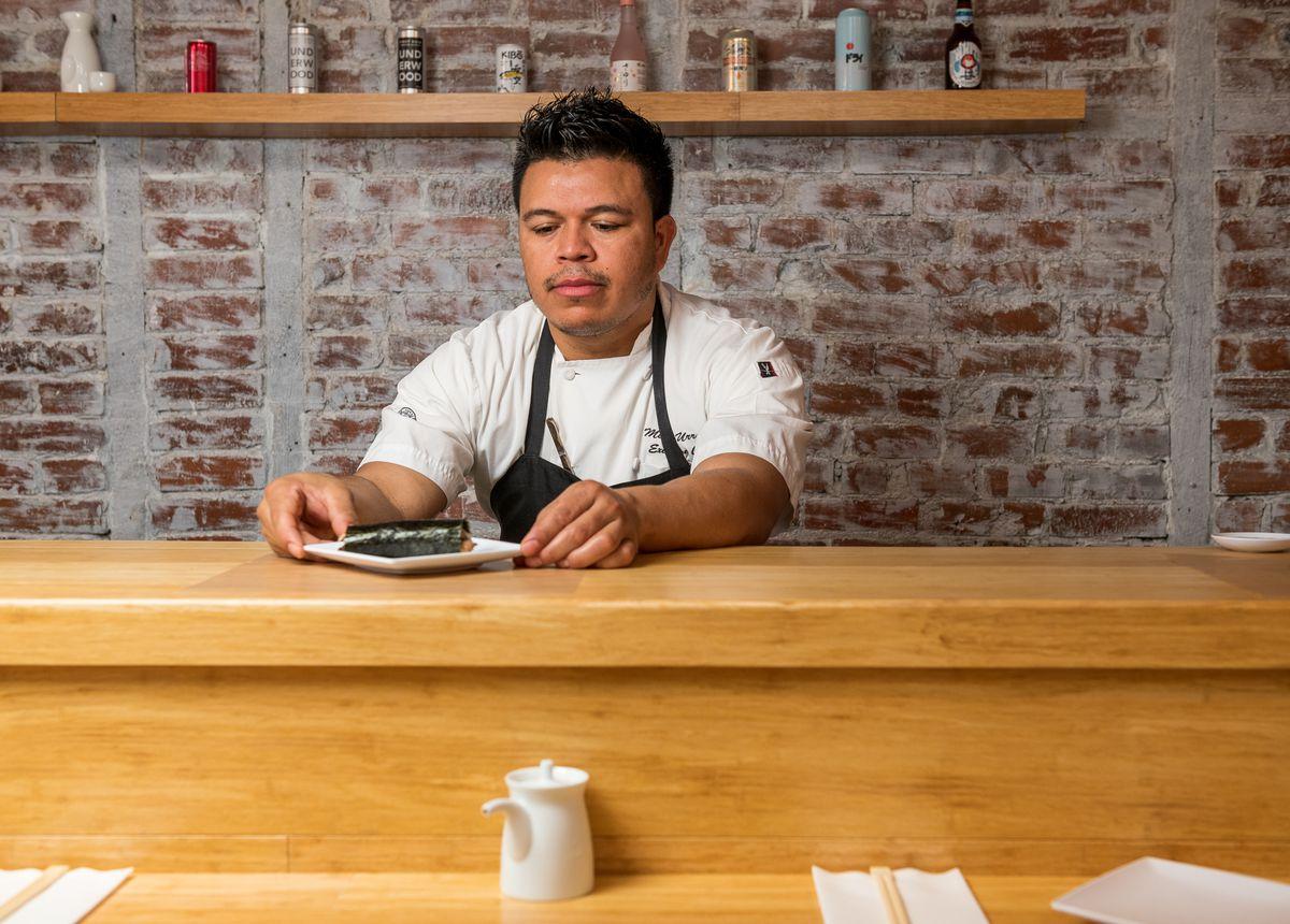 Handover/King's Ransom chef Melvin Urrutia