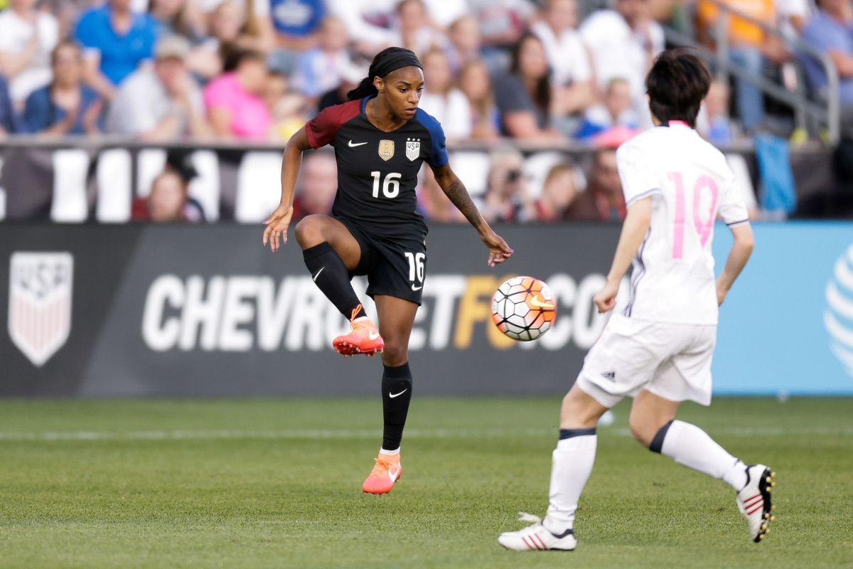 Soccer: International Friendly Women's Soccer-Japan at USA