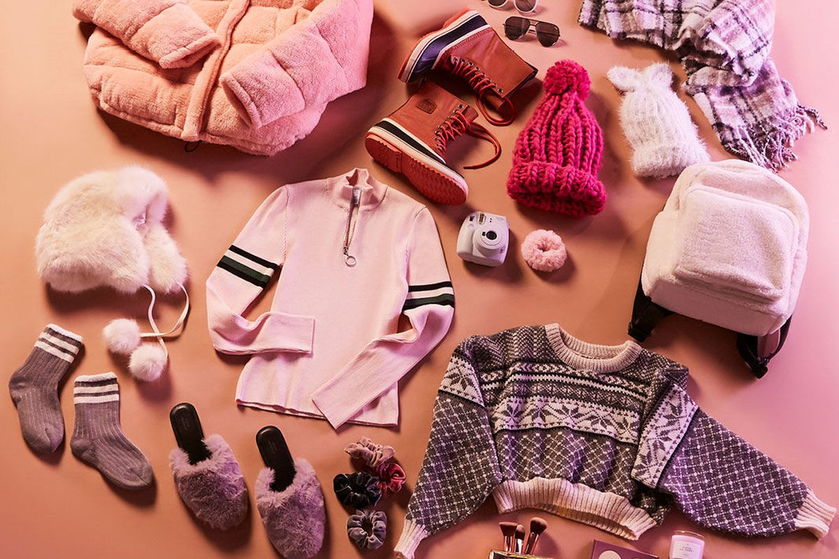 Clothes and accessories from Urban Outfitters.