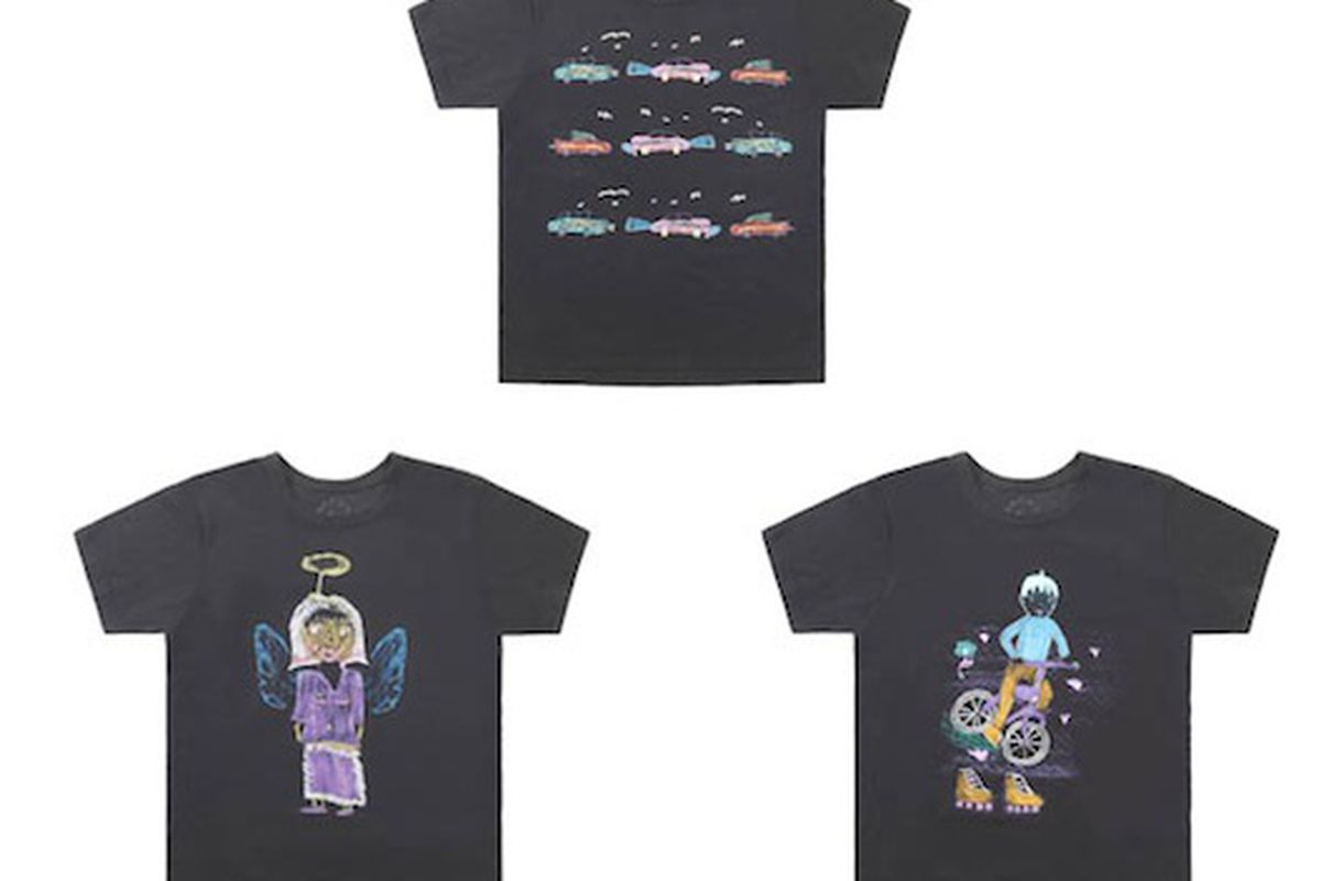 A few of the Marc Jacobs AFAI tees