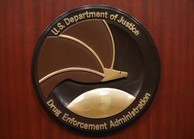 The seal for the DEA.